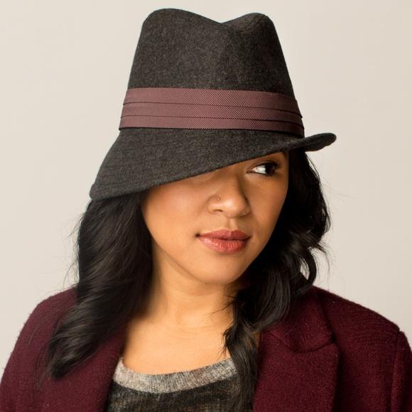 e8dd799d929 Goorin Bros Accessories | Asymmetrical Fedora Womens Hat Wool | Poshmark